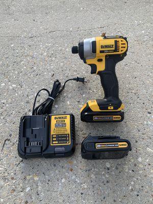 Dewalt 20vt impact drill 2 battery brand new for Sale in Marrero, LA