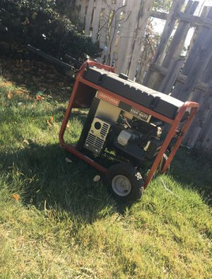 Craftsman 6300 Watt 11HP generator for Sale in Hillcrest Heights, MD