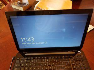 "Tosiba Satellite s55, i7 4gb ram, 750gb hd win 8, 15.6"" screen, wifi ready good used working for Sale in Keller, TX"