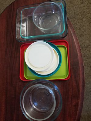 Pyrex 10pc glass container for Sale in Scottsdale, AZ