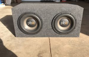 Powerbass subwoofer for Sale in Sunbury, OH