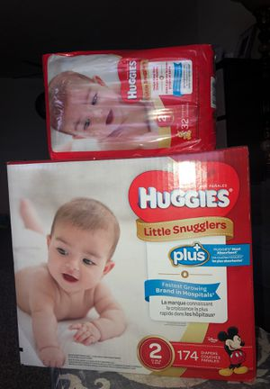 Huggies size 2 diapers #206 for Sale in Fresno, CA