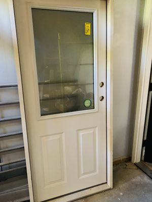 Masonite Low-e Coated glass door and frame for Sale in Vanport, PA