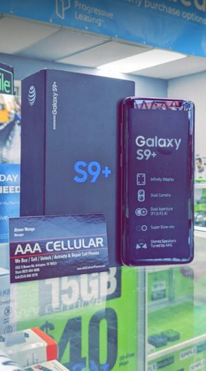 Unlocked Samsung Galaxy S9 Plus, 64gb, Excellent condition, Free charger for Sale in Fort Worth, TX