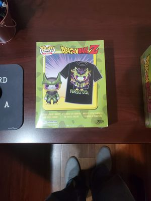 Dragonball Z Funko Pop and Shirt Combo for Sale in Irving, TX