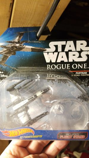 Star wars rogue one x- wing fighter/ tie fighter action figures N.I.B. for Sale in Shiloh, IL