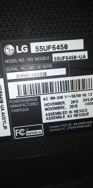 55 inch LG Flat screen smart tv for Sale in Monroe, WA