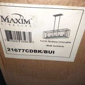 Chandelier - Brand New In Box for Sale in Manitou Springs, CO