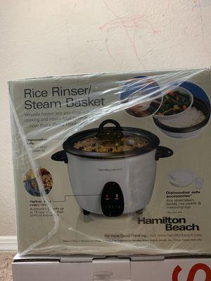 Hamilton Beach Rice Cooker 16 Cup for Sale in Nashville, TN