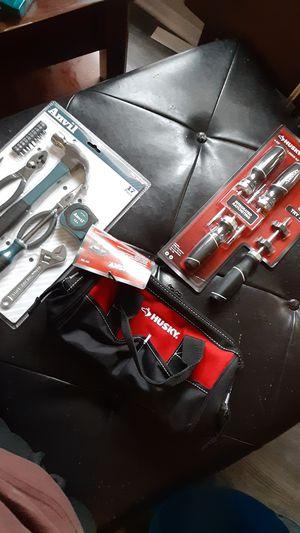 Anvil basic hand tools, husky driver set, and husky Bag for Sale in McKinney, TX