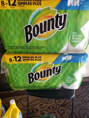Bounty each for $8 check out my page for more item for Sale in Gardena, CA