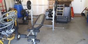 Adjustable weight bench for Sale in Keller, TX