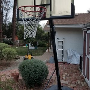 Adjustable Basketball Hoop **Free** for Sale in Fallbrook, CA