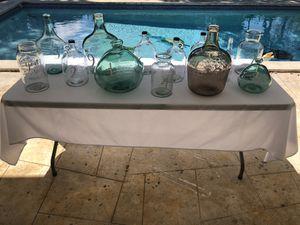 Escort Jars- Wedding Decor for Sale in Miami, FL