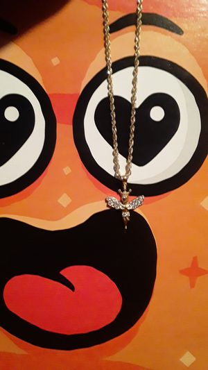 10k rope chain and pendant for Sale in Waterbury, CT