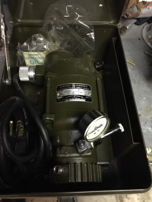 General electric portable motor for Sale in NJ, US