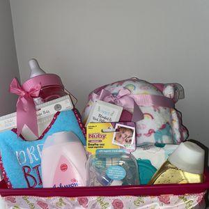 Unicorn Baby Girl Gift Basket for Sale in Hampton, GA