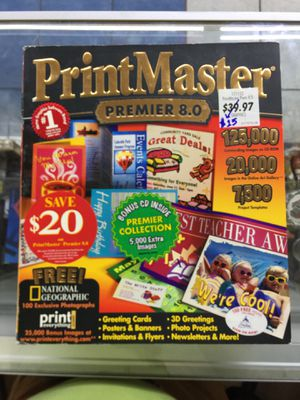 PrintMaster Premier 8.0 for Sale in Irving, TX