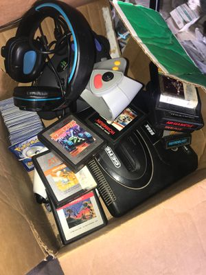 Nintendo/ sega / atari / PC headphones 50 (pokemon cards sold) for Sale in Massillon, OH