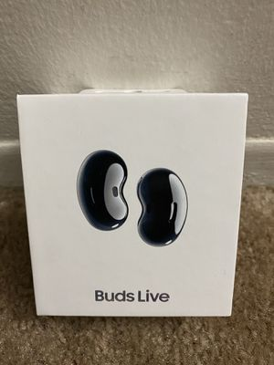 Samsung - Galaxy Buds Live True Wireless Earbud Headphones - Black for Sale in Northville, MI