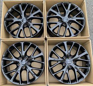 "20"" Dodge Durango factory wheels rims gloss black new for Sale in Costa Mesa, CA"