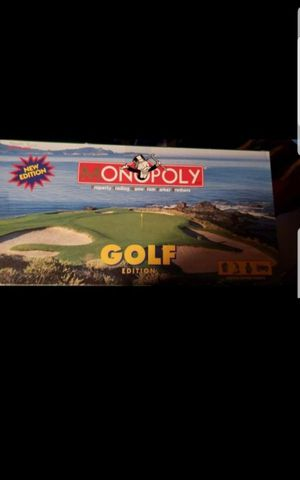 Monopoly golf edition for Sale in Federal Way, WA
