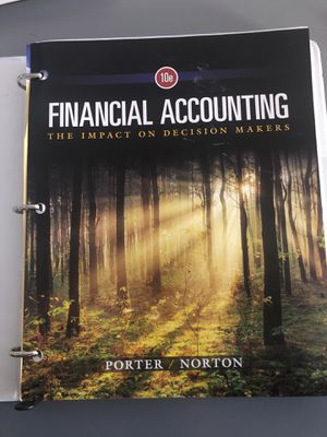 Financial Accounting: The Impact on Decision Makers for Sale in Salt Lake City, UT