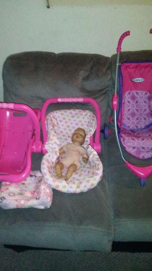 Stroller baby 2 car seats for Sale in Philadelphia, PA