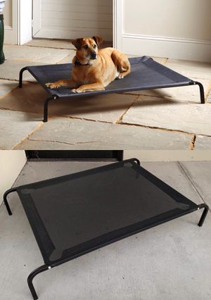 New in box L Large raised dog pet cot bed 45x30x8 inches tall for pets up to 90 lbs capacity elevated cuna de perro for Sale in San Dimas, CA