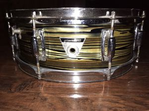 "Ludwig S-100 Standard Series 5x14"" 8-Lug Wood Snare Drum 1969 - 1974 for Sale in Ontario, CA"