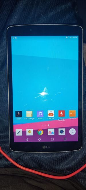 LG G Pad f 8.0 tablet for Sale in Corona, CA