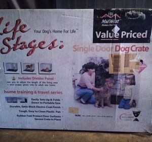 Large dog crate for Sale in Bethel Park, PA