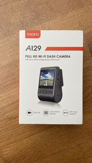 New Viofo A129 Car Front Dash Cam 64GB Full Kit for Sale in Swampscott, MA