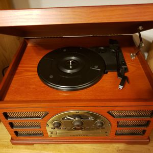 Record player w/ CD and tape deck for Sale in El Cajon, CA
