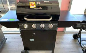 New Black Char-Broil 4 Burner BBQ Grill! QNZ for Sale in Mesquite, TX