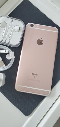 iPhone || 6S Plus || iCloud Unlocked || Factory Unlocked || Works For Any SIM Company Carrier | Works For Locally & INTERNATIONALLY || >Like New< for Sale in Springfield,  VA