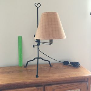 Adjustable Height Table Or Desk Lamp With Shade for Sale in PA, US