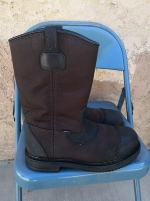 Red wings pecos steel toe work boots size 10.5 E2 for Sale in Riverside, CA