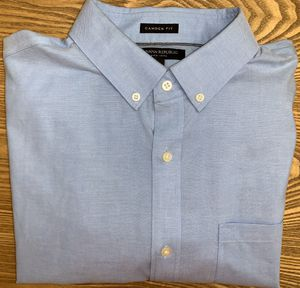 Banana Republic Men's Blue Button Down Dress Shirt XLarge for Sale in Wyoming, MI