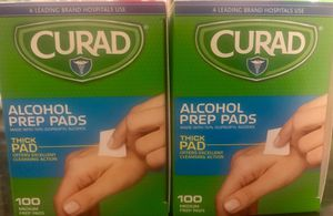 Alcohol pads thick box of a 100 for Sale in Boca Raton, FL