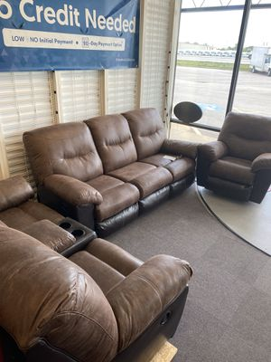 New Brown Reclining Sofa and Loveseat for Sale in Maryland Heights, MO