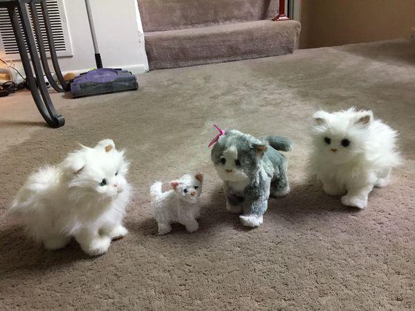 FurReal Friends Walking Kittens (total 4) Kids toys