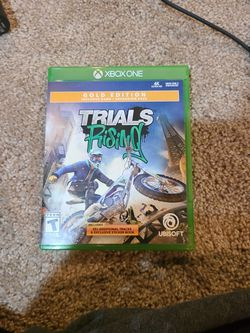 Trials Rising Xbox One Game for Sale in Snoqualmie Pass,  WA