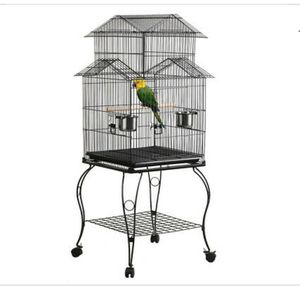 55 inch bird cage, includes many accessories! for Sale in Austin, TX