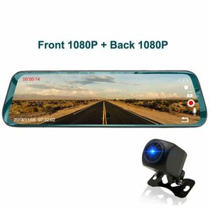 "Driving recording Mirror Dash Cam Touch 9.66""Screen 64GB Car Dvr,1080P 170° Full HD Front Camera;1080P 170°Wide Angle Full HD Rear View for Sale in Baldwin Park, CA"