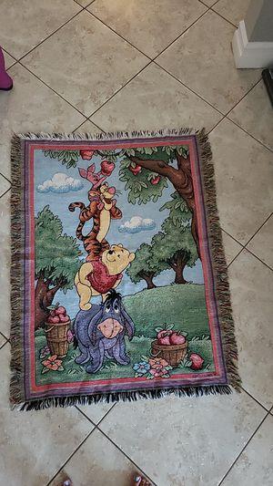 Winnie the pooh Disney blanket for Sale in Montclair, CA