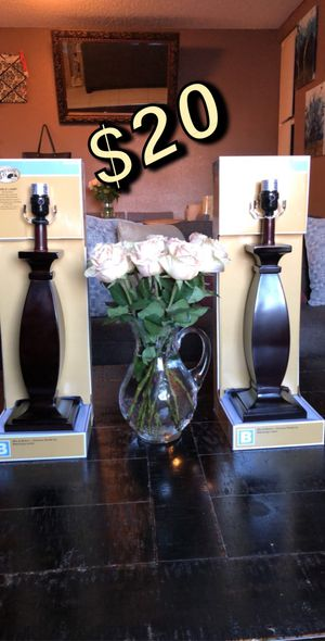 Table lamps for Sale in Long Beach, CA