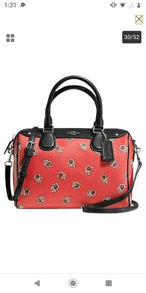 NWT Coach Mini Bennett Crossbody Satchel messenger shoulder bag satchel tote for Sale in Flamingo, FL