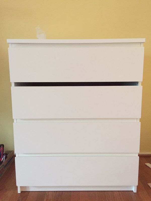 White Dresser from Ikea