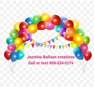 Ballon arches, columns , table decorations, and balloon animal packages for Sale in Lubbock, TX